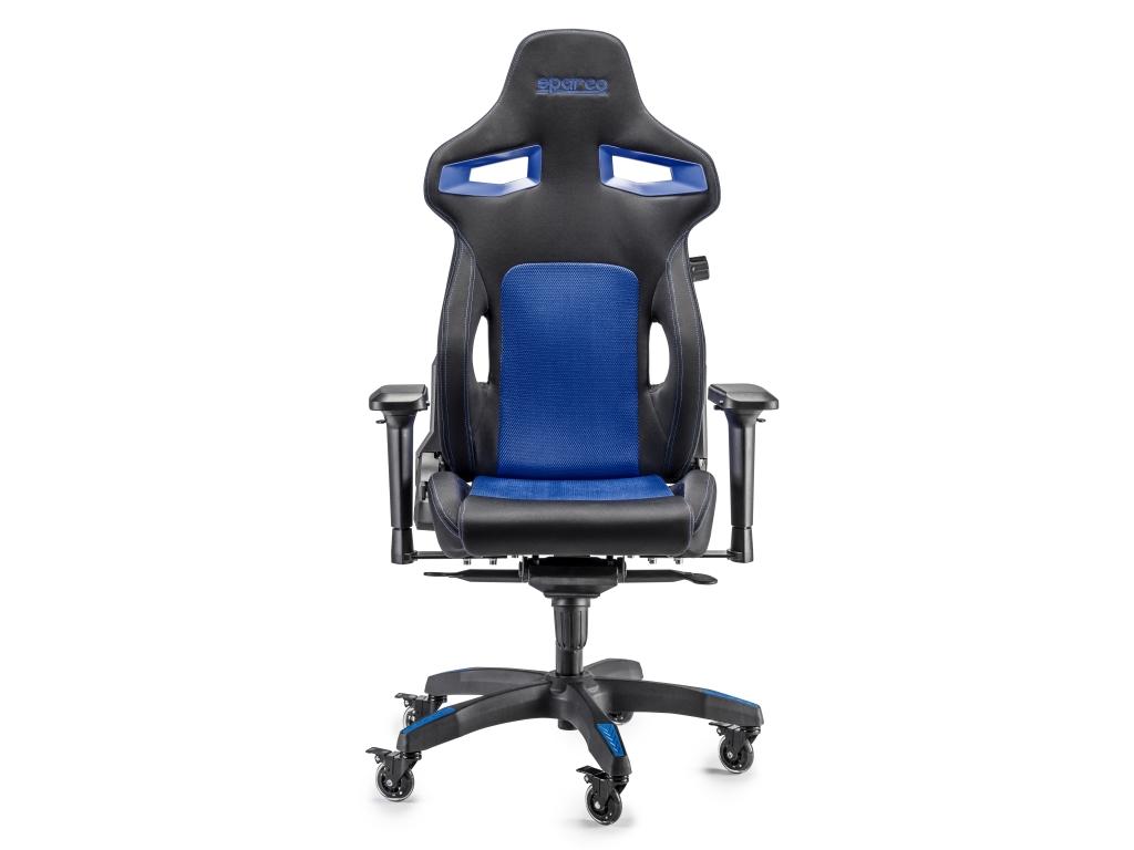 Sedia Da Ufficio Sparco Stint Nera Azzurra Sparco 00988nraz